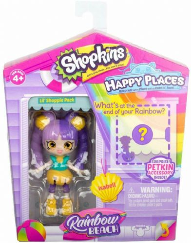 Shopkins Happy Places Rainbow Beach Season: Isabell